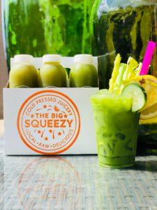 The Big Squeezy juice box